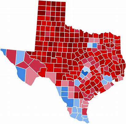 Election Presidential Results Texas Svg Pixels Wikimedia