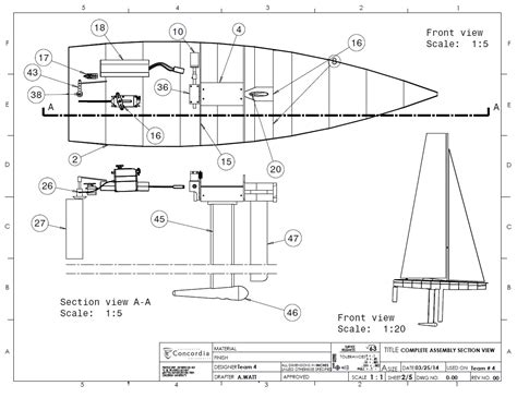 Building A Control Deck by Design Canting Keel Rc Sailboat