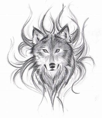 Wolf Face Drawings Drawing Pencil Head Draw