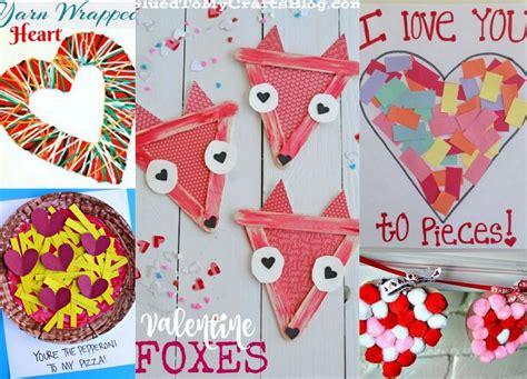 25 adorable s day craft ideas for preschoolers 891   Valentines Day Preschool Crafts Set D