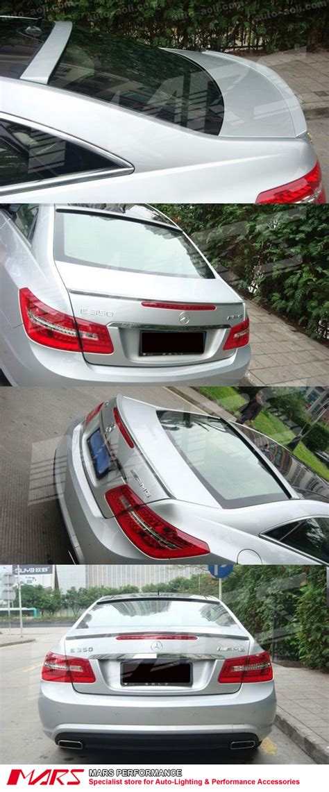 AMG E63 Style Rear ABS (unpainted) Trunk Lip Spoiler for ...