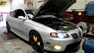 2004 Pontiac Gto Supercharged - Dyno