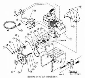 Mtd 315e610e000  1995  Parts Diagram For Engine And V