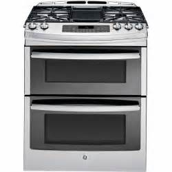 Of Images Stoves With Two Ovens by Ge Profile Series Ge Profile Series 6 8 Cu Ft Slide In