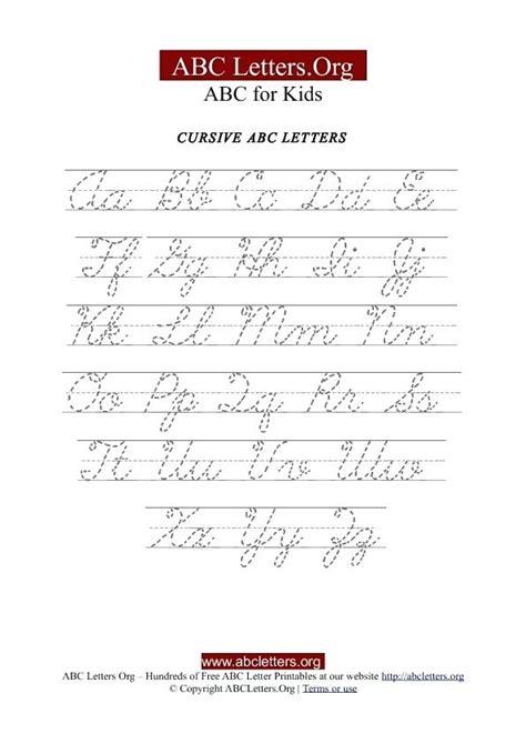 cursive letters az 2 cursive letters az palomino alphabets more calligraphy 10336
