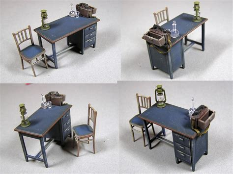 Accessories Furniture by Miniart 35564 Office Furniture Accessories