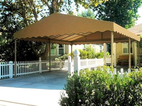 Freestanding Carports by Freestanding Canvas Carport Traditional Garage And