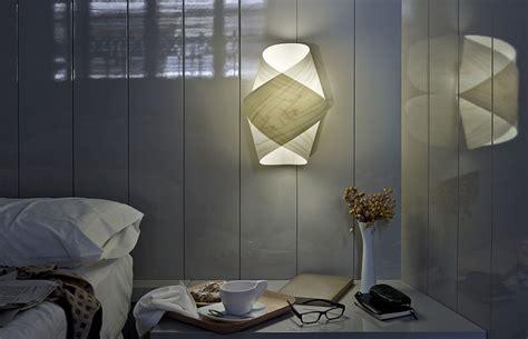 schlafzimmer ideen futuristisch wandleuchte aus holz 55 designer len