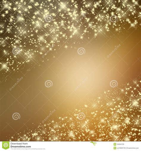 glittering yellow background  stars stock illustration