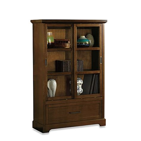 Bathroom Cabinets Bed Bath And Beyond by Harrison Cabinet In Walnut Bed Bath Beyond