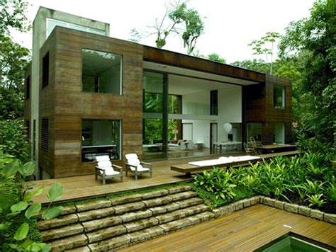 House In The Middle Of The Amazonian Forest by Arthur Casas Amazonian Jungle House