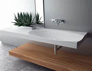 vasque lavabo suspendu consobricocom With lavabo salle de bain rectangulaire