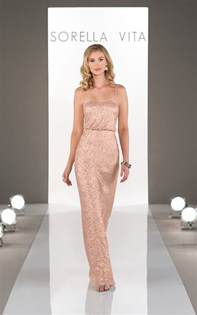 gold sequin bridesmaid dress sorella vita 8690 gold bridesmaid dress 259