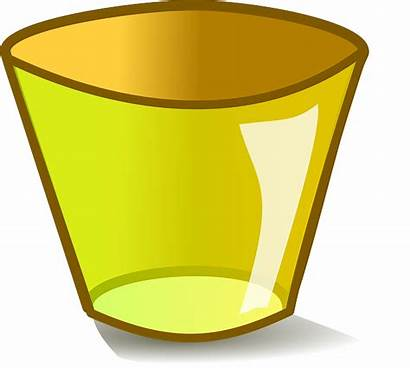 Empty Clipart Transparent Trash Glass Cartoon Shot