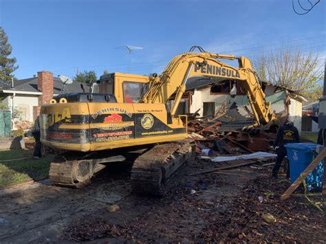 residential demolition peninsula hauling demo