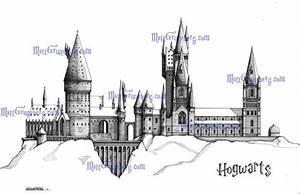 Hogwarts School of Witchcraft and Wizardry 5x7 Fine Art ...