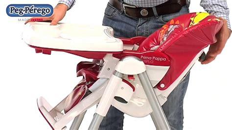 housse pour chaise haute peg perego chaise haute bébé prima pappa diner de peg perego