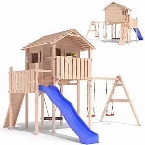 Spielhaus Garten Mit Rutsche : domizilio spielturm stelzenhaus baumhaus spielhaus rutsche ~ Watch28wear.com Haus und Dekorationen