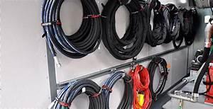 42 Hydraulic Hose Storage  Hydraulic Hose Cabinet  6 Slots Hi Line