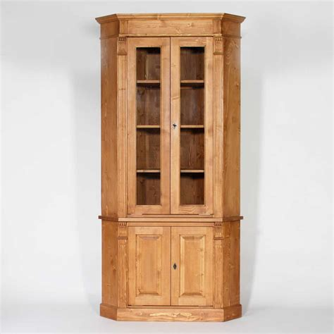 chaise pour ilot de cuisine buffet d 39 angle bois massif ciré miel vitré 4 portes made