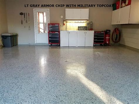 Garage Floor Paint Chips by Armor Chip Garage Epoxy Kit For Flooring Armorgarage
