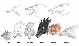 Game Of Thrones: Dire Wolves by Flying-With-Dragons on ...