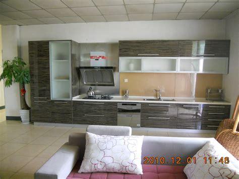 kitchen cabinets european style armoire de cuisine en placage en bois artificiel en style 6043