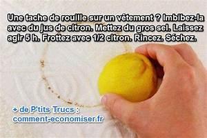 Comment Enlever La Rouille : tache de rouille sur un v tement le truc pour la faire ~ Melissatoandfro.com Idées de Décoration
