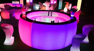 Illuminate Your Event With Led Furniture
