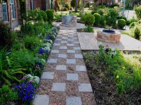 gardening landscaping pea gravel patio ideas