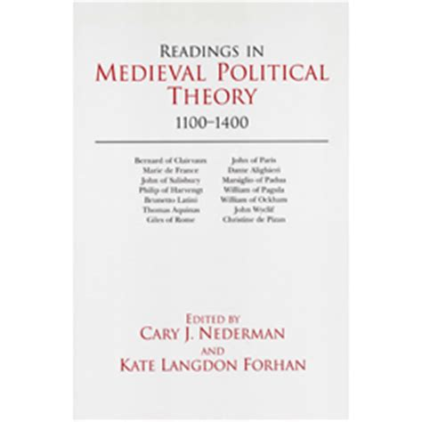 readings in political theory 1100 1400 political theory