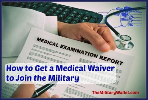 medical waiver  join  military article