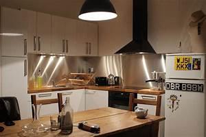 Credence Plaque De Cuisson : cr dence de cuisine en inox bross john steel mag ~ Dailycaller-alerts.com Idées de Décoration