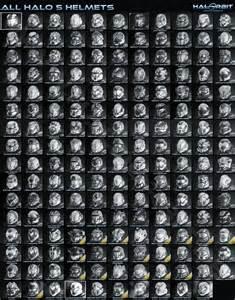 All Halo 5 Helmets
