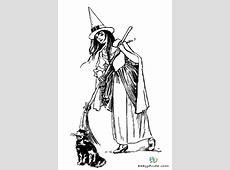 Halloween & Walpurgisnacht Ausmalbilder 👻 BabyDuda » Malbuch