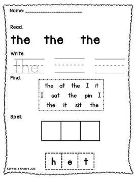 tricky words worksheet bundle 72 pages jolly phonics