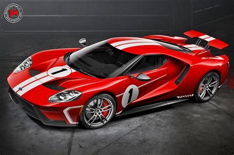 Una Serie Speciale Dallanima Racing La Ford Gt 67