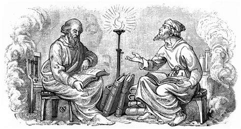 aristotle vs plato substance vs transcendence arcanum