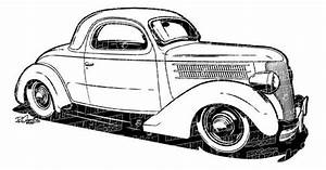 1936 ford coupe hot rod clip art cars drawings and ford With 34 ford hot rod