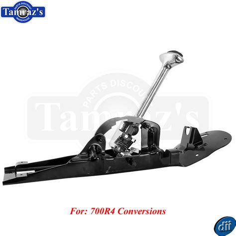 700r4 Floor Shifter Conversion by 66 67 Chevelle Center Console Floor Shifter Assembly