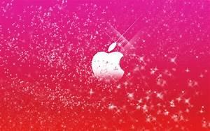 Apple Wallpaper Pink wallpaper - 692370