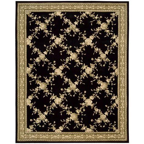 www overstock rugs nourison overstock julian black 8 ft x 11 ft area rug