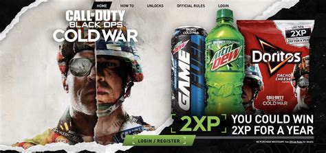 black ops cold war mountain dew promotion announced