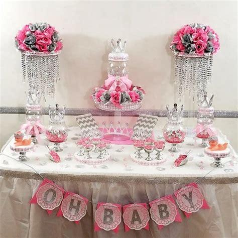 princess baby shower candy buffet centerpiece  baby