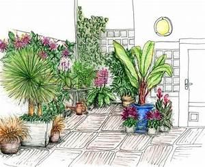 le patio luxuriant le magazine gamm vert With amenagement petit jardin avec terrasse 2 petit jardin et ses fruits jardin potager jardineries