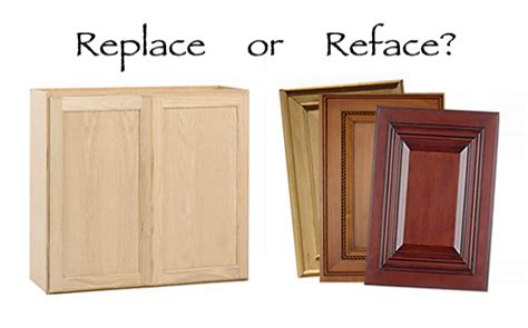 reface or replace kitchen cabinets replace or reface kitchen cabinets home makeover 7697