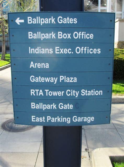 Gateway East Parking Garage by Progressive Field Archives Mlb Ballpark Guides