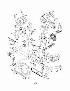 Weslo Bike Exerciser Parts