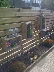 Gartenzaun Ideen Gestaltung : sichtschutz zum nachbarn dekor pinterest g rten ~ Lizthompson.info Haus und Dekorationen