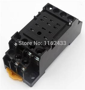 Pyf11a E 11 Pin Relay Socket Base For My3 Hh53p H3y 3